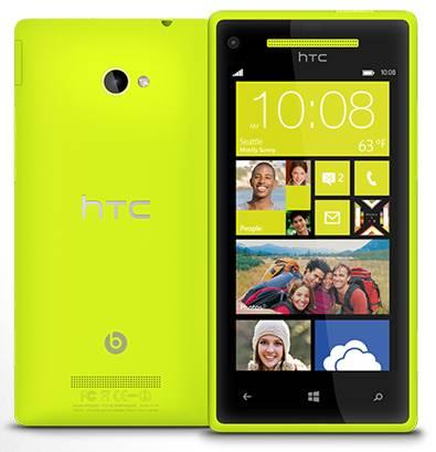 HTC 8X z Windows Phone 8