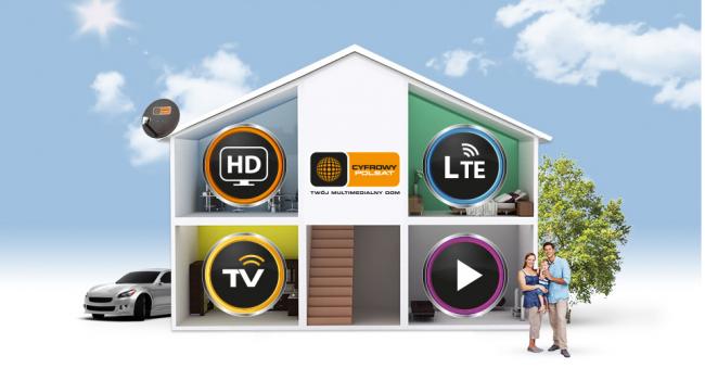 cyfrowy polsat twój multimedialny dom 3