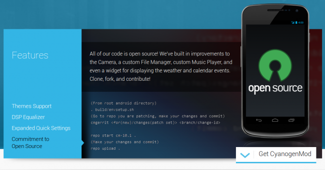 cyanogenmod open source