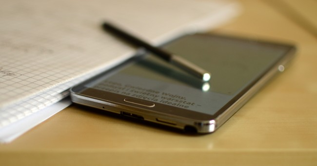 Galaxy Note 3 rysik