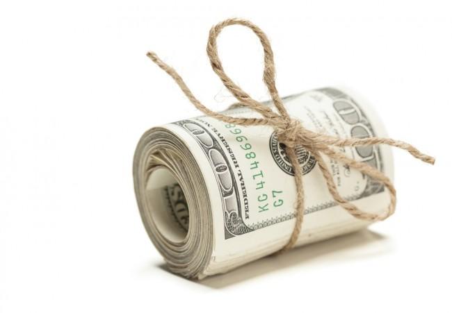 pieniądze banknoty dolary
