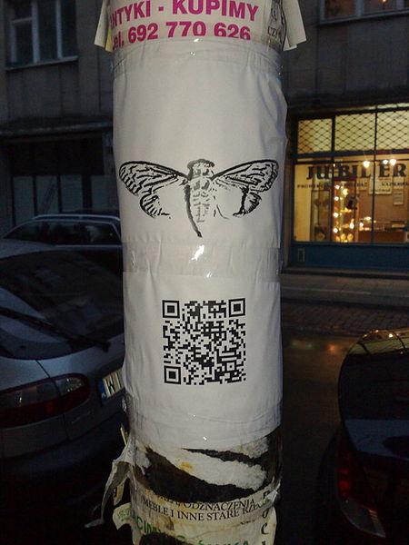Wiadomość Cicada 3301 w Warszawie