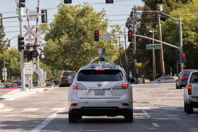 google samochod autonomiczny