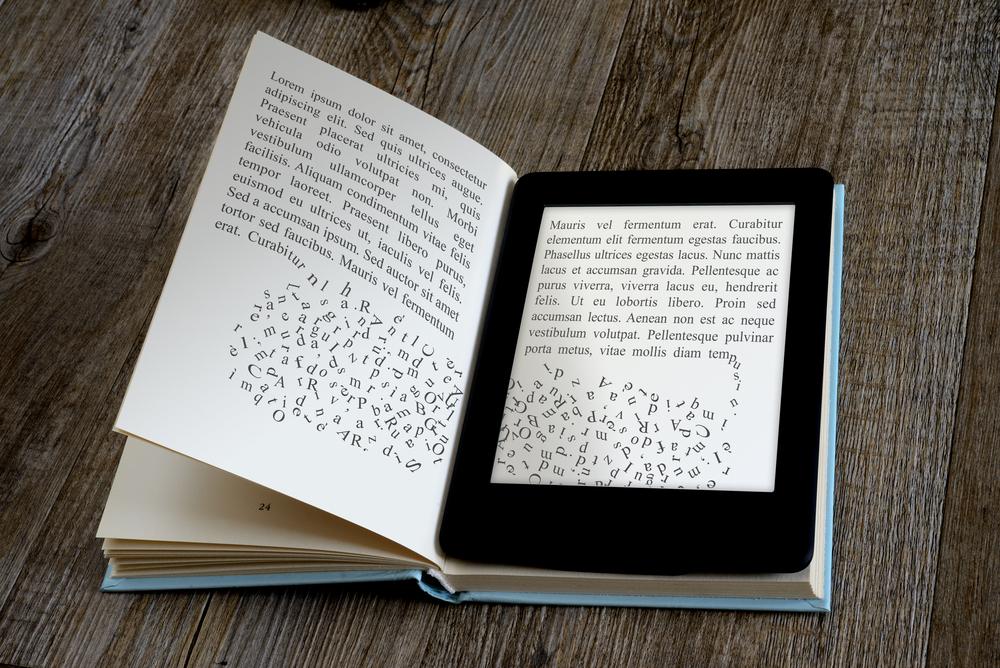 ksiazka czytnik kindle ebook
