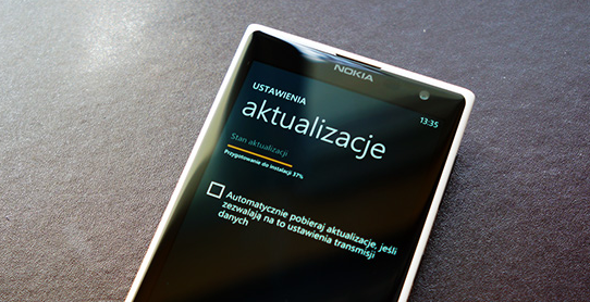 windows phone aktualizacja