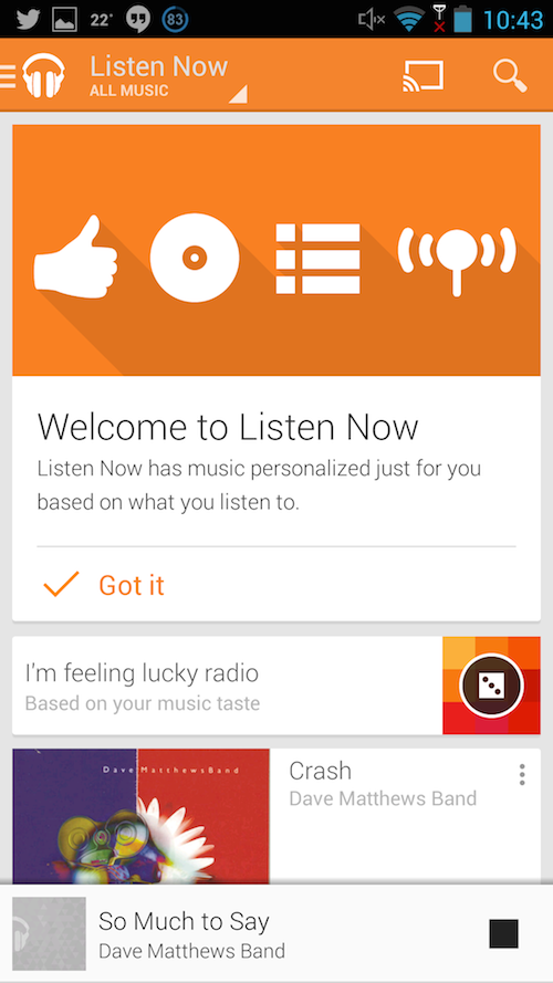 Google Play Music - Chrome Web Store