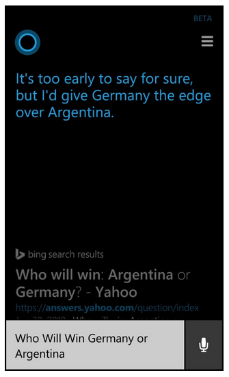 cortana bing mistrzostwa świata 1