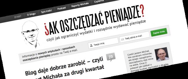 Blog Michała Szafrańskiego