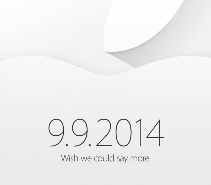 Zaproszenie na konferencję Apple - via loopinsight.com
