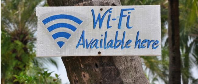wifi na wakacjach