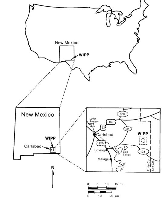 Położenie składowiska (rysunek pochodzi z raportu)