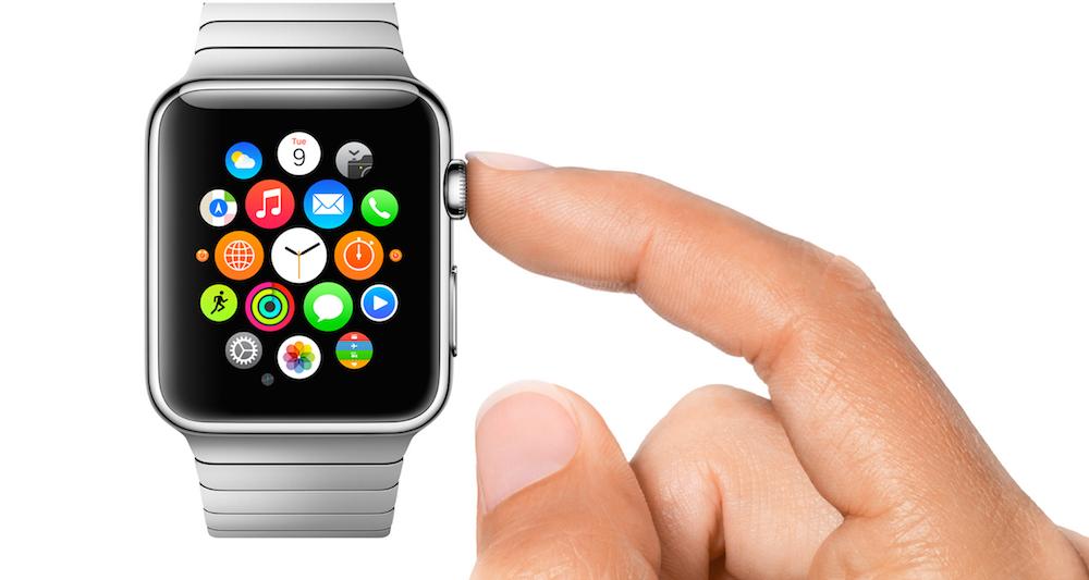 Apple Watch, pokrętło