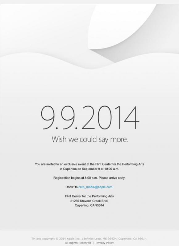 Apple Zaproszenie