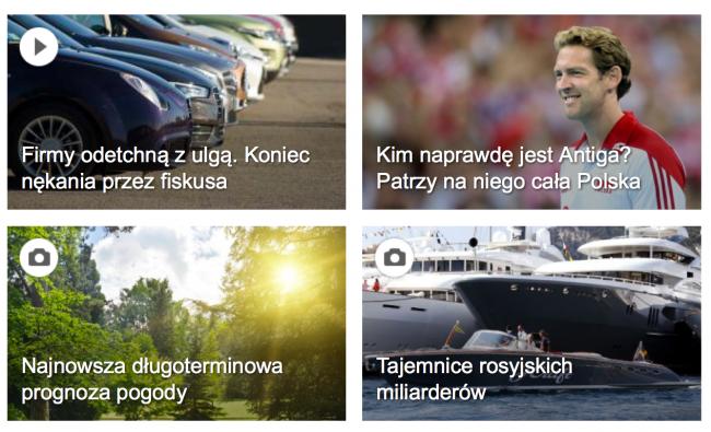 Kafle na Wp.pl