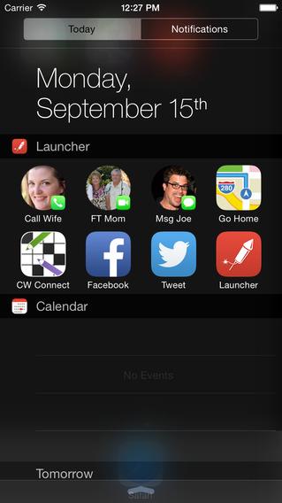 Launcher iOS 8