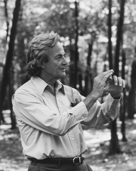 Richard Feynman (fot. Wikipedia)