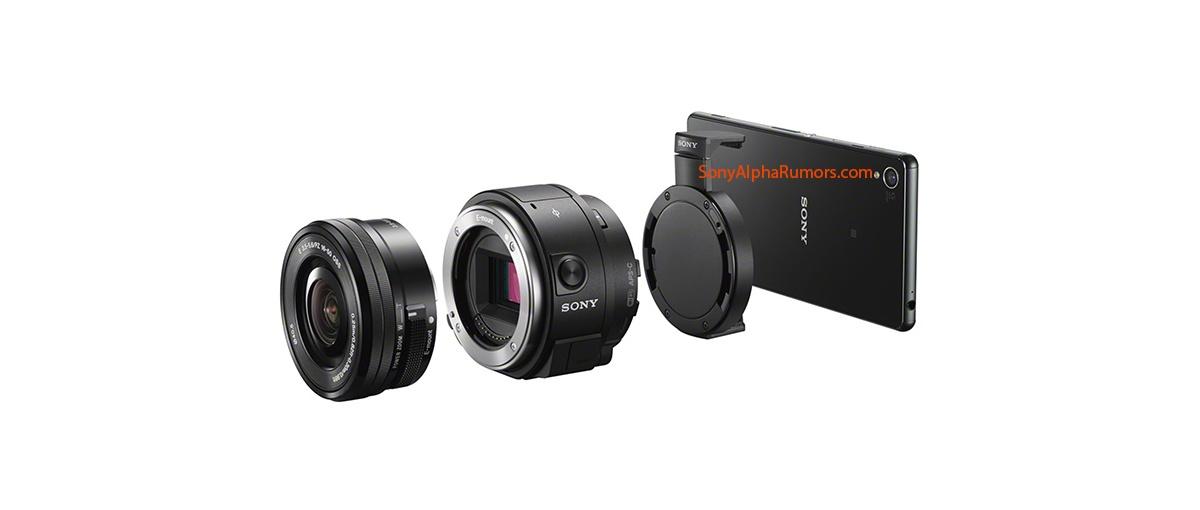 Sony ILCE-QX1 – bezkorpusowiec, który pozwoli podłączyć obiektywy do smartfonów