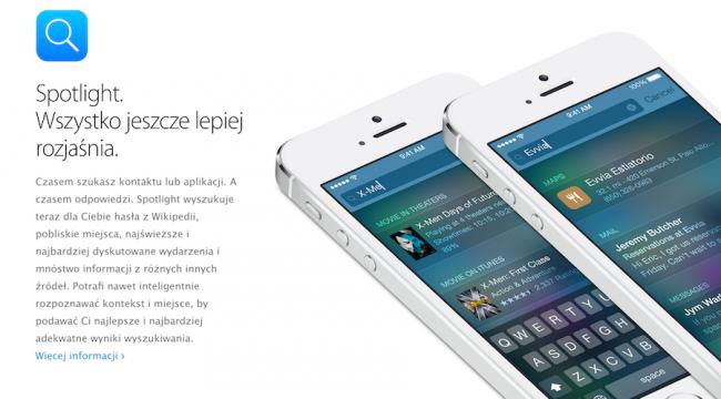 iOS8 - Spotlight