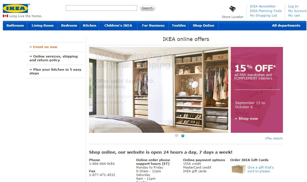 Ikea sklep internetowy