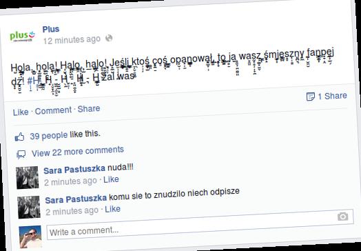 plus facebook