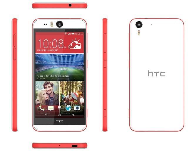 HTC Desire Eye Czerwony