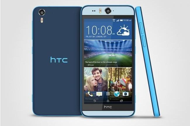 HTC Desire Eye Niebieski