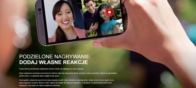 HTC Podwójne nagrywanie