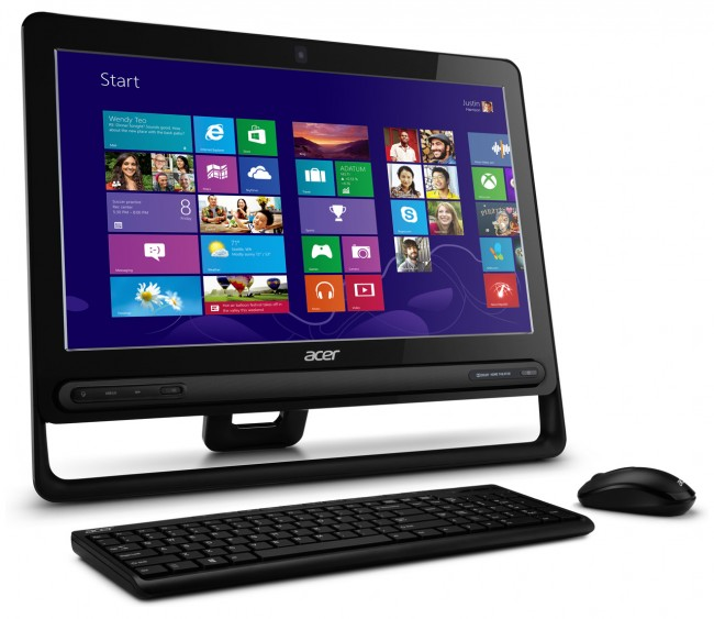 all in one acer aspire 2