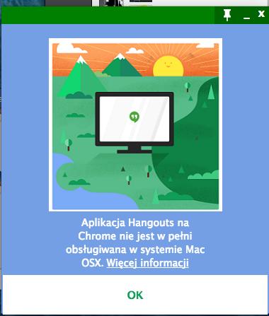 google hangouts chatheads os x