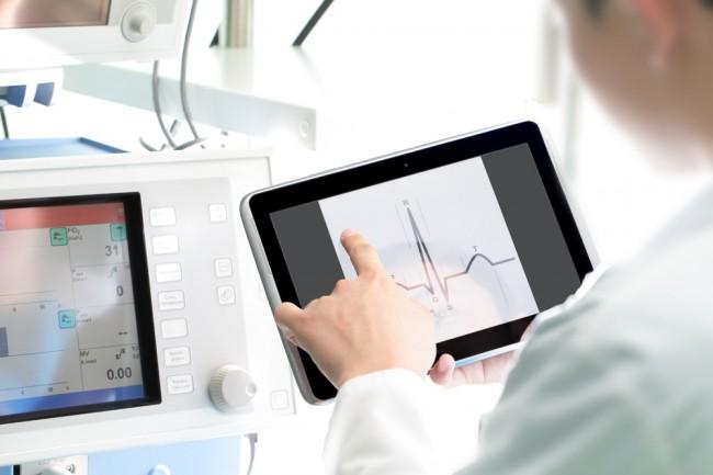 lekarz tablet
