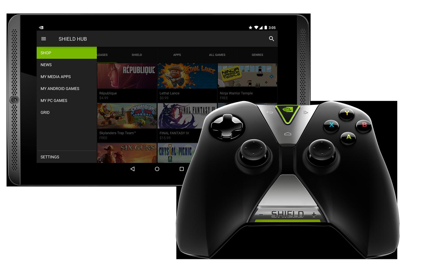 NV_SHIELD_Tablet_SHIELD_Hub_app