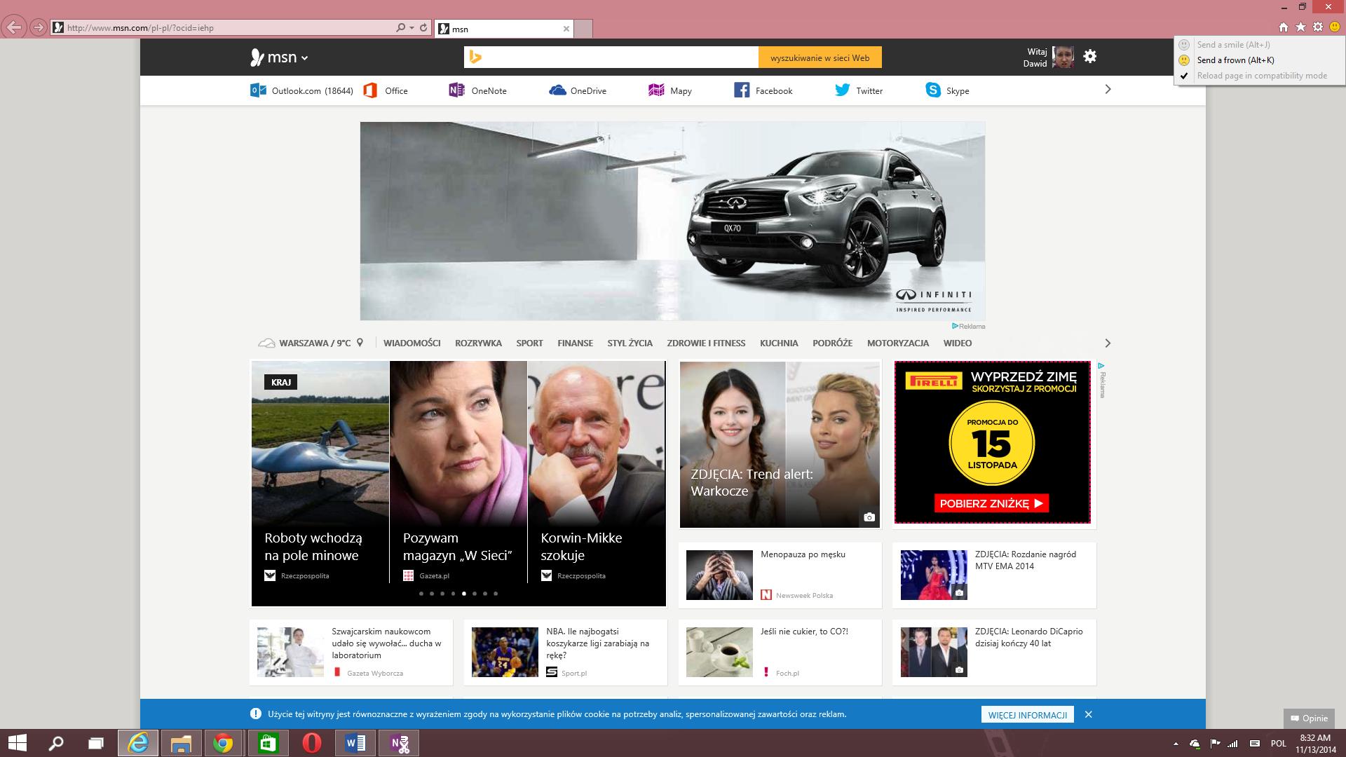 Windows 10 Build 9879 Internet Explorer