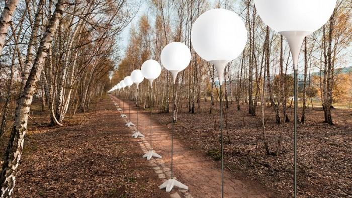 mur berlinski balony 4