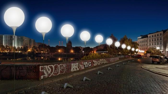 mur berlinski balony 6