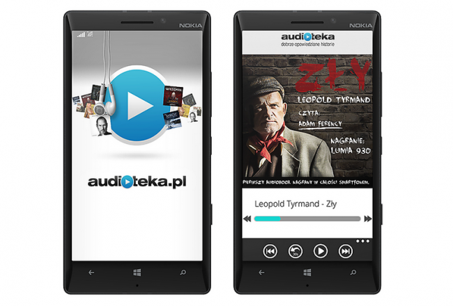 nokia lumia audiobook zly