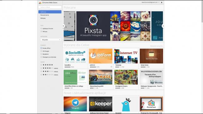 Chrome OS Recenzja 2
