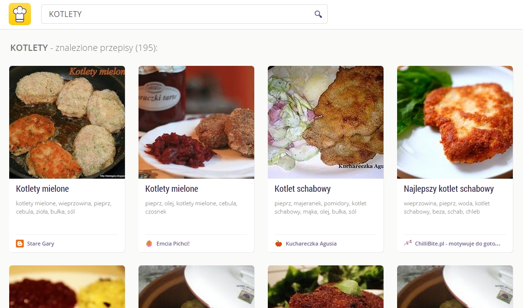 cooklet search