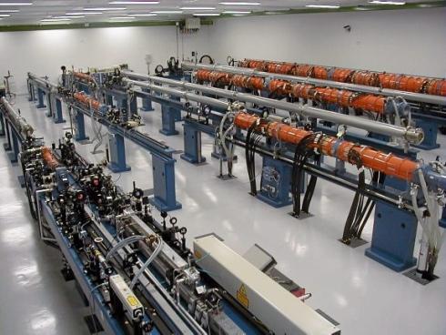 Lasery wykorzystany do eksperymentu (źródło: Associated Press)