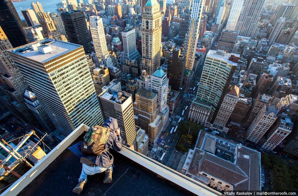 Nowy Jork Z Perspektywy Nielegalnych Wspinaczy Robi Wrażenie