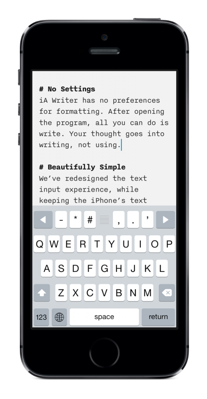 writer-for-iphone-keyboard