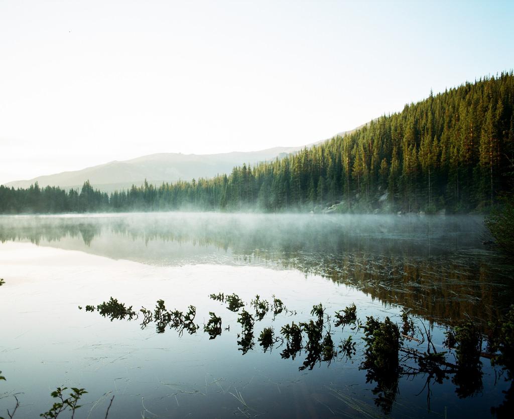 """Bear Lake – Pentax 67 + Portra 400"" - Trent Davis"
