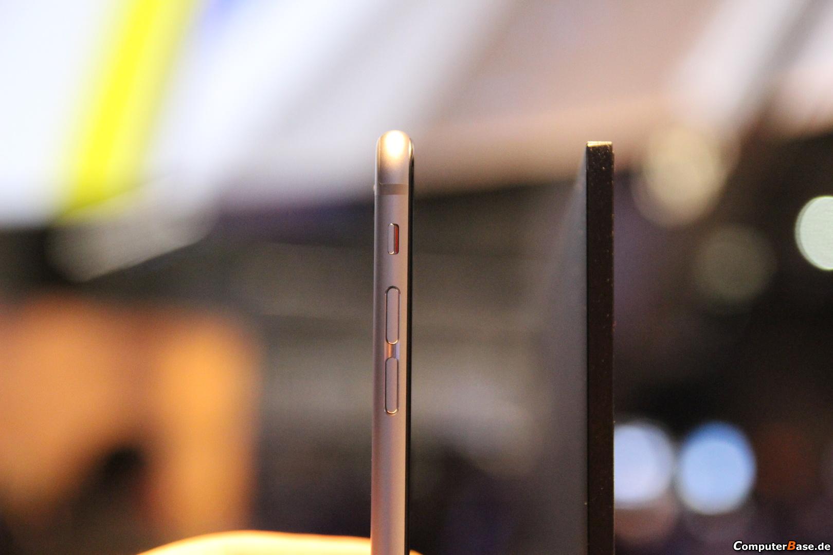 iPhone 6 i Sony BRAVIA z serii X90C. Fot. computerbase.de