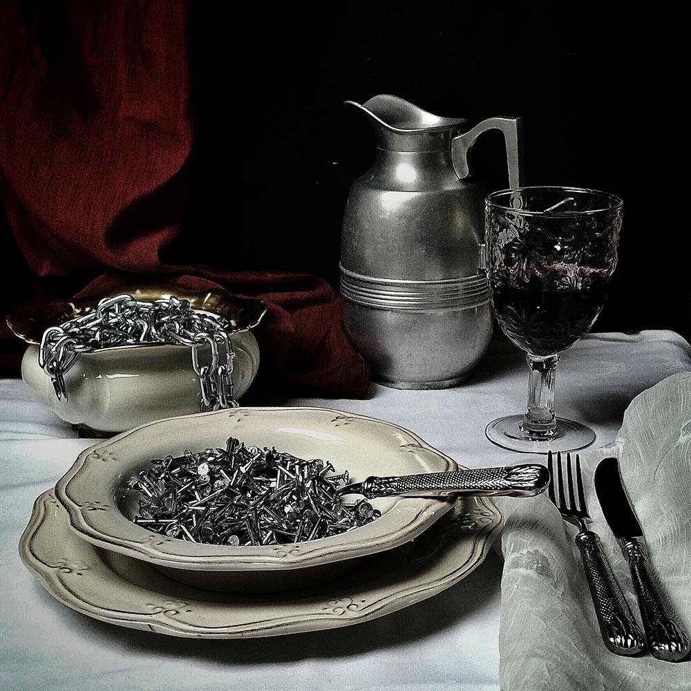 """STILL LIFE - """"DINNER"""" - Agnieszka Domańska"""