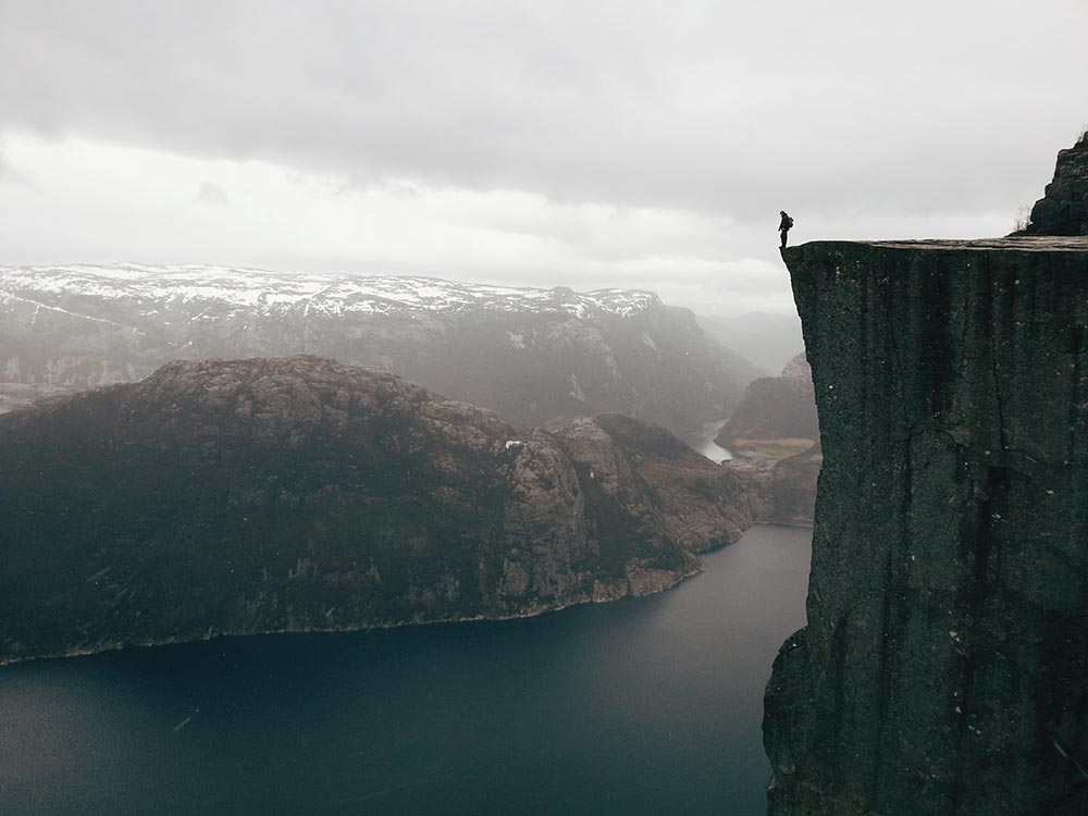 """TRAVEL - """"THE PULPIT ROCK – NORWAY"""" - Atle Ronningen"""