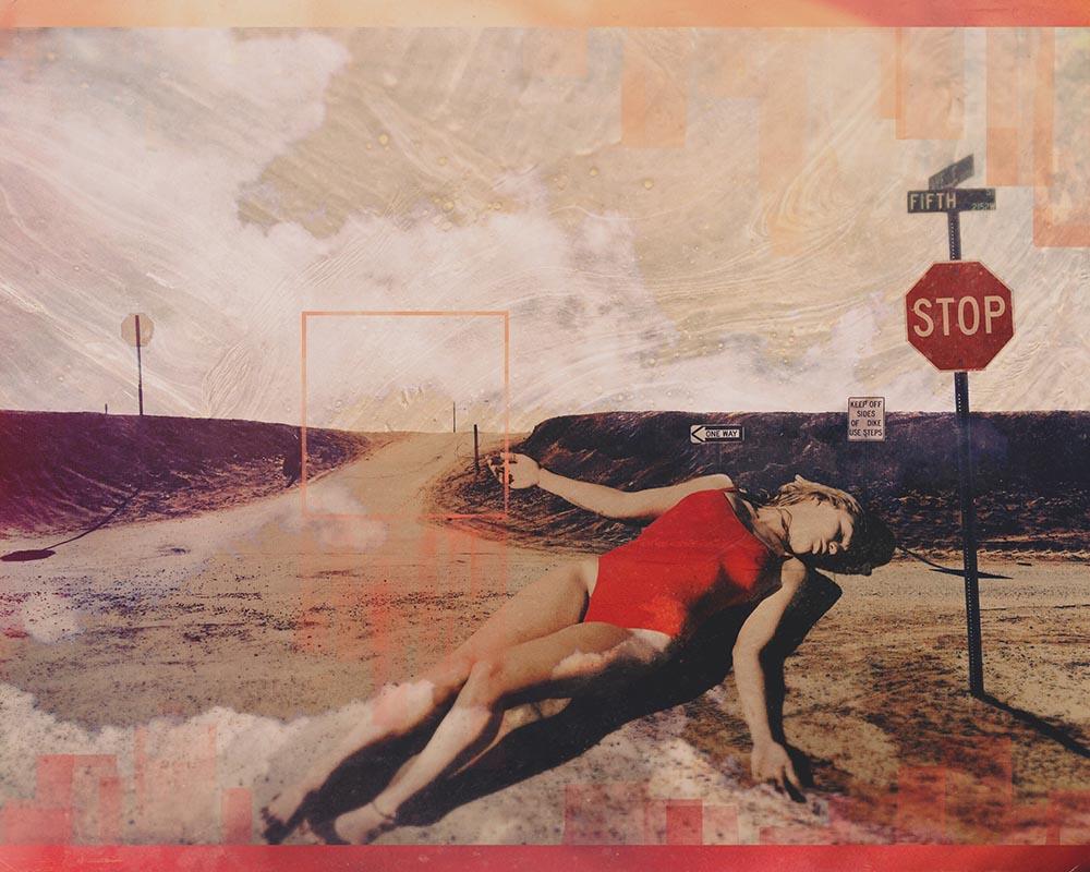 "DIGITAL FINE ART - ""STOP"" - Sara Tune"