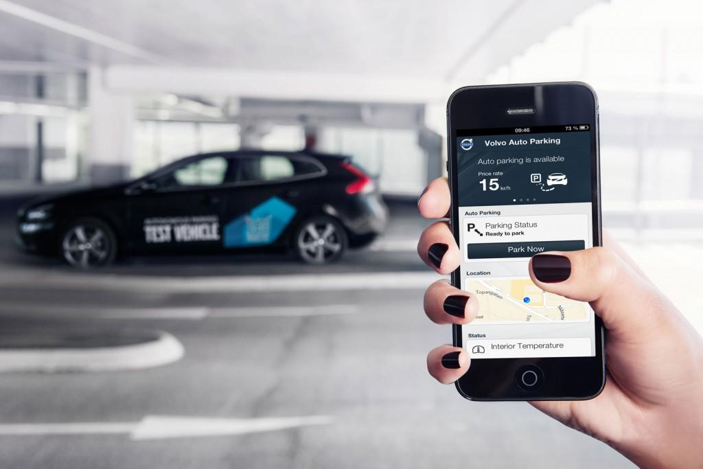 system autonomicznego parkowania Volvo