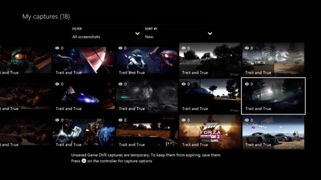 xbox one zrzut ekranu 2