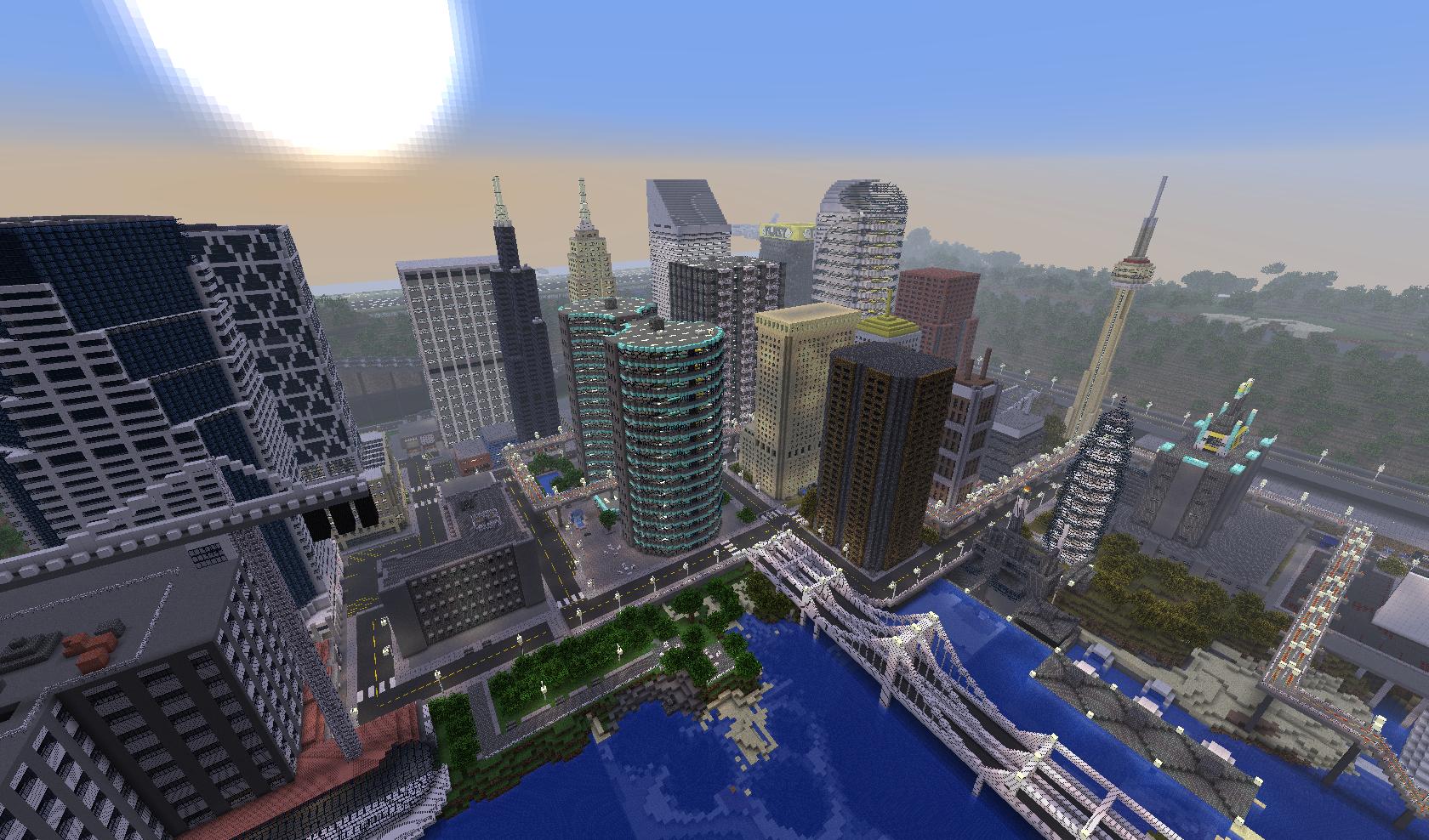 Choć w Minecrafcie możemy stworzyć podwaliny całkiem nowego świata zwykle kopiujemy to, co już znamy.