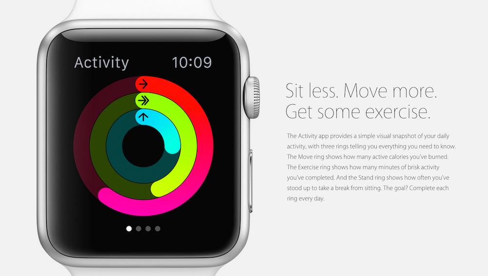 Apple Watch fitness, 1