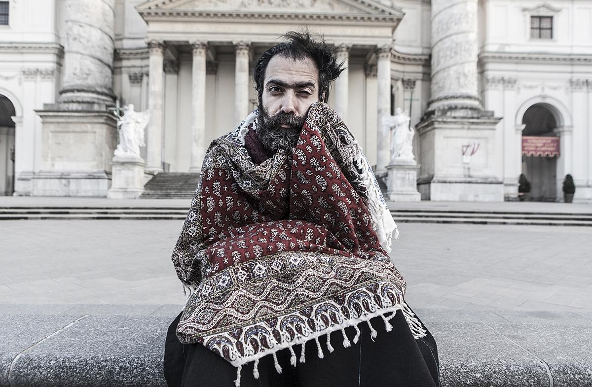 Ludzie — Saleh Rozati, Iran (mieszka w Austrii)